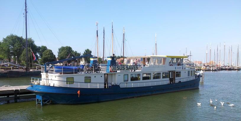 Bootskonferenz 2017 auf der Siloam mit Henk Bruggeman